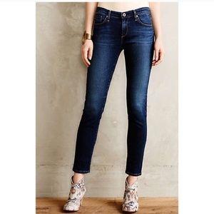 AG The Stevie Straight Jeans 29R Anthropologie